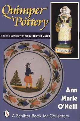 Antique French Quimper Pottery Collector Reference: Faience, Maker Marks