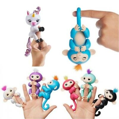 Pop Fingerlings Interactive Pet Electronic Baby Monkey Horse Kid Toy XMAS Gifts