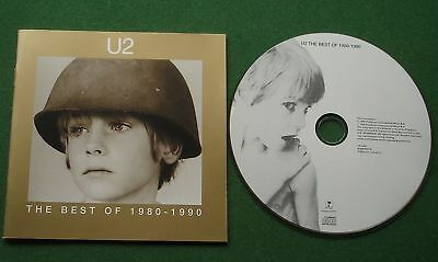 The Best Of U2 1980-1990 inc Pride (In The Name Of Love) + CD