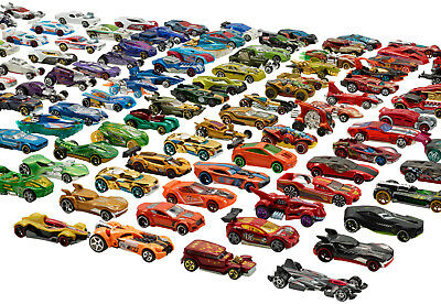Mattel - Hot Wheels - 10 x 1er Blister Auto, 10 verschiedene Autos, OVP, 05785