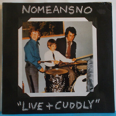 NOMEANSNO Live And Cuddly - Original Euro 2-LP - Punk Alternative No Means No
