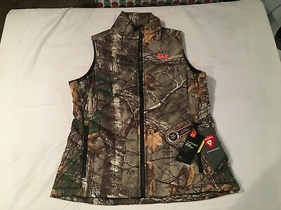 NWT $99.99 Under Armour Womens CG Frost Puffer Vest / Jacket Realtree Sz Large
