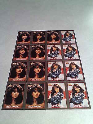 *****Louise Mandrell*****  Lot of 42 cards.....3 DIFFERENT