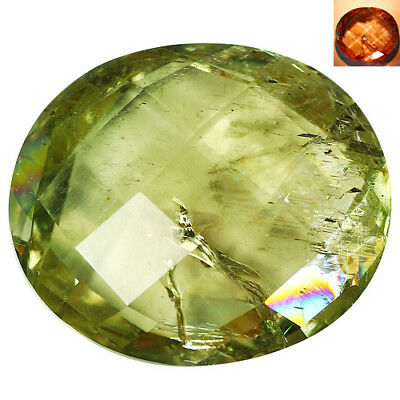 8.32Ct Incomparable Oval Cut 16 x 13 mm AAA Color Change Turkish Diaspore