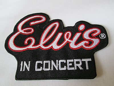 ELVIS PRESLEY Concert Patch  New Iron On