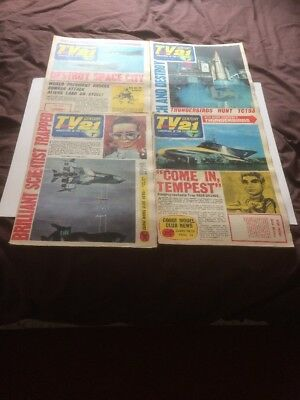 TV  Century 21 comics,4 Different Issues Number 68,69,77,78,From 1966....