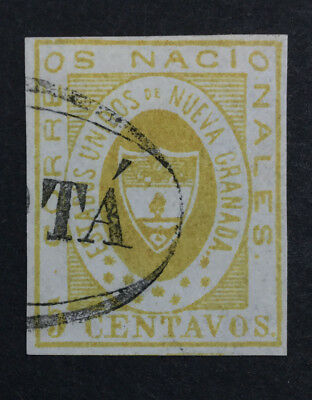 Momen: Colombia #14 Used Xf $175 Lot #6505