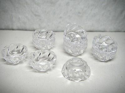 Dishes x 10 Small Plastic DOLLS HOUSE MINIATURES (F5064)