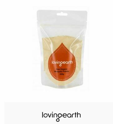2 x 500g LOVING EARTH Raw Organic Lucuma Powder 1kg