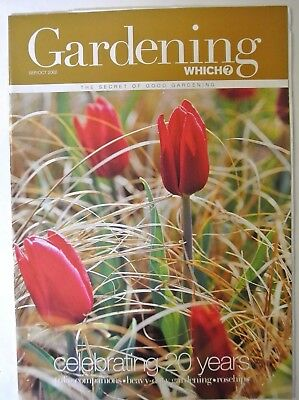 Gardening Which? Magazine September/October, 2002. Celebrating 20 years.