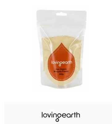 3 x 500g LOVING EARTH Raw Organic Lucuma Powder 1.5kg