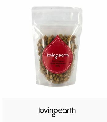 5 x 200g LOVING EARTH Raw Organic White Mulberries 1kg