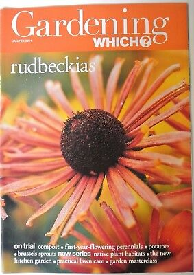 Gardening Which? Magazine. January/February, 2004. Rudbeckias. Compost. Potatoes