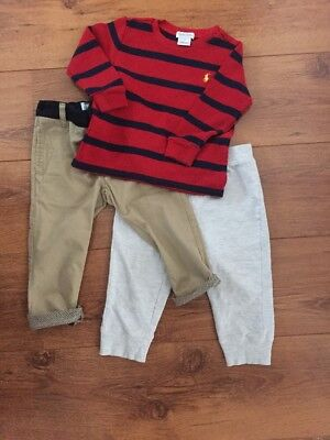 Ralph Lauren Ted Baker 12-18 Months Boy Bundle Lot Designer