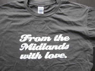The Wonder Stuff - From The Midlands With Love T Shirt (XL)
