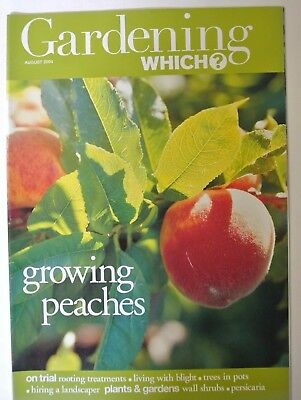 Gardening Which? Magazine. August, 2004. Growing peaches. Rooting treatments.