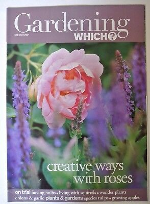 Gardening Which? Magazine. September/October, 2004. Creative ways with roses.