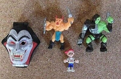 Mighty Max figures