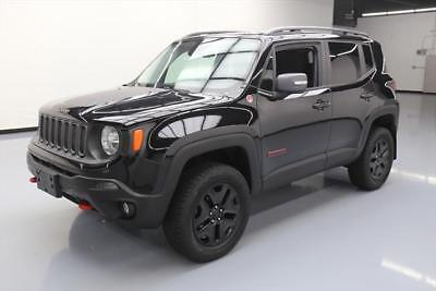 2015 Jeep Renegade Trailhawk Sport Utility 4-Door 2015 JEEP RENEGADE TRAILHAWK 4X4 HTD SEATS REAR CAM 12K #C04341 Texas Direct