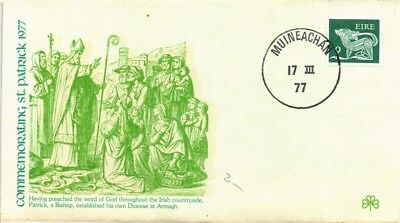 Dr Jim Stamps St Patrick Establishing Diocese At Armagh Ireland Fleetwood Cover