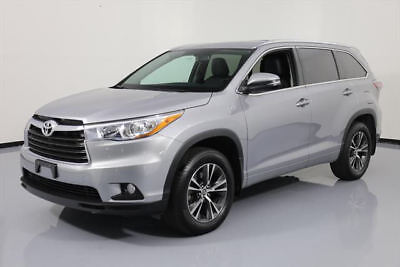 2016 Toyota Highlander XLE Sport Utility 4-Door 2016 TOYOTA HIGHLANDER XLE AWD 8-PASS LEATHER NAV 12K #346156 Texas Direct Auto