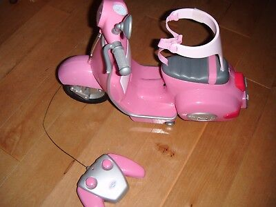 Baby Born pink  remote control City Scooter from Zapf suitable age 3-8 years