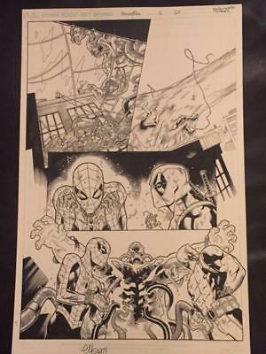 Spider-Man/deadpool #1 Page #15 Original Art  Page-Ed Mcguinness