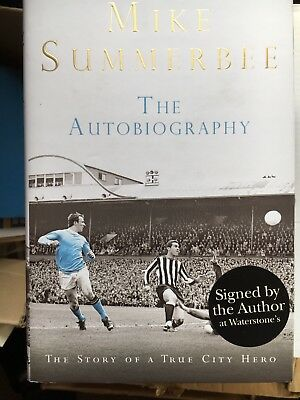 Mike Summerbee Signed Autobiography