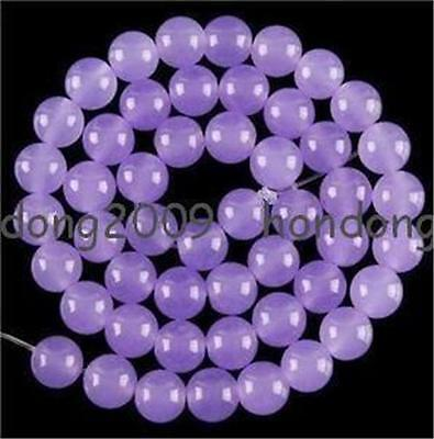 8mm  purple alexandrite Round gemstone Loose Beads 15""