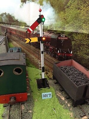 Garden Railway Model SM32 1:19 - 1:24 scale Combined Home & Distant Signal