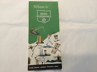- 1960's OHIO Turnpike brochure and map