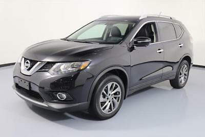 2015 Nissan Rogue  2015 NISSAN ROGUE SL AWD HTD LEATHER PANO ROOF NAV 41K #883610 Texas Direct Auto