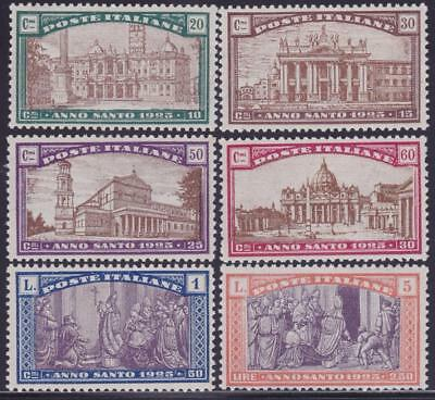 ITALY 1924 Holy Year set 6v MNH Fresh B14355