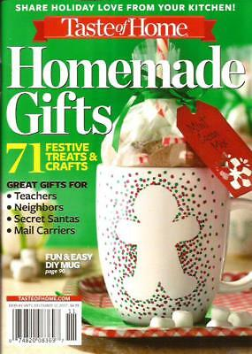 2017 Taste of Home HOMEMADE GIFTS crafts and treats cookbook, holiday Christmas