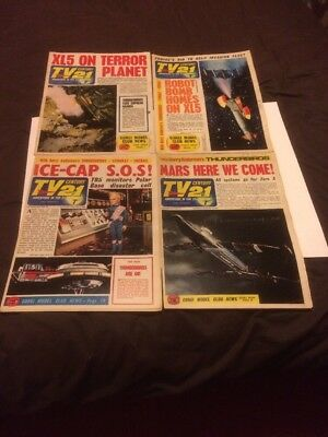 TV  Century 21 comics,4 Different Issues Number 96,98,100,101,From 1966....