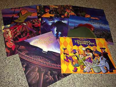 HUNCHBACK OF NOTRE DAME Movie Poster Lobby Cards 1996 Disney Animation Cartoon