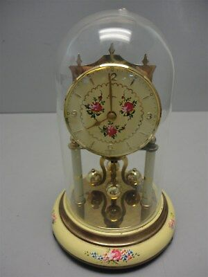 VTG Kern Anniversary 400 Day Glass Dome Clock - West Germany