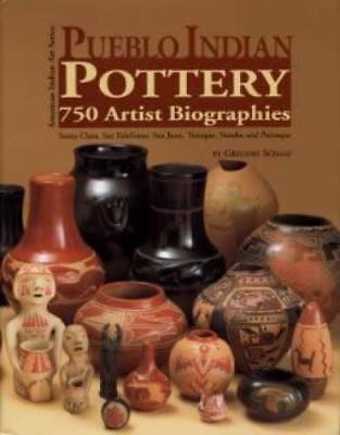 OOP!! Pueblo Indian Pottery 750 Artist Biographies Book