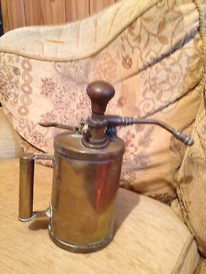 Vintage, Brass, Spirit Lamp, Burner.