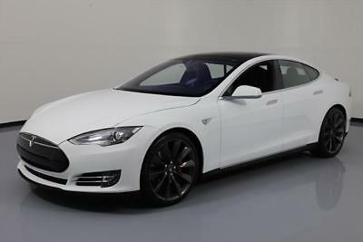 2015 Tesla Model S  2015 TESLA MODEL S P90D AWD AUTOPILOT LUDICROUS SPD 11K #109568 Texas Direct