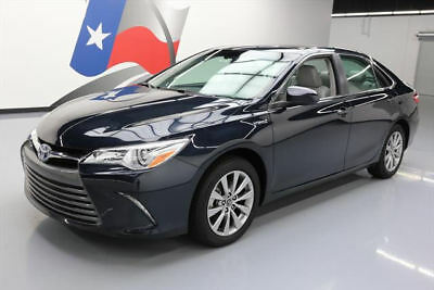 2017 Toyota Camry  2017 TOYOTA CAMRY XLE HYBRID SUNROOF HTD LEATHER 3K MI #222502 Texas Direct Auto