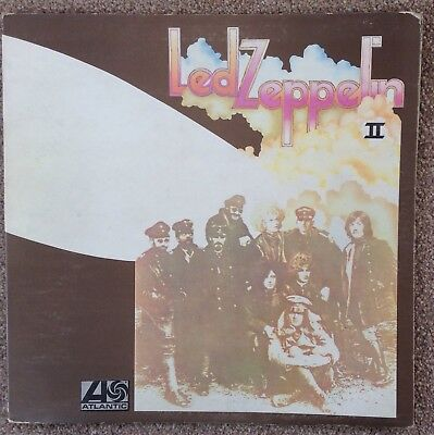 Empty Led Zeppelin 2 LP Sleeve (No Disc) With Added Pic/Article + Pics,Articles.