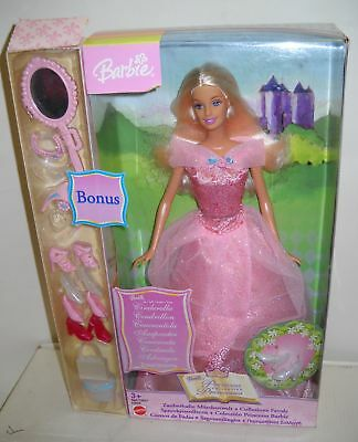#639 NRFB Mattel Foreign Princess Collection Cinderella Barbie