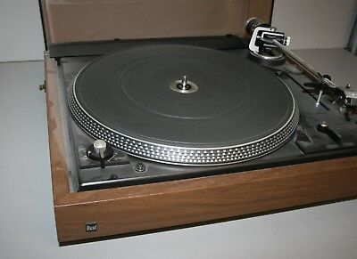Vintage Dual 1264 Stereo Turntable Record Player -Works