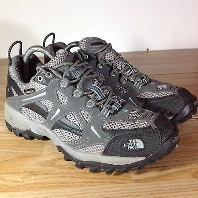 Womens North Face Hiking Shoes/boots! Grey! Uk7 (Worn Once)