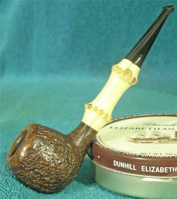 NEW UNSMOKED! MICHAEL LINDNER BAMBOO SHANK CLASSIC APPLE American Estate Pipe