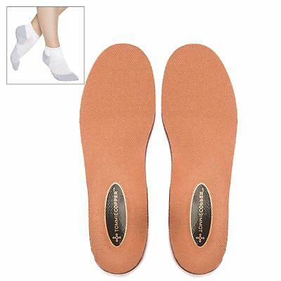 Tommie Copper Orthotics Shoe Inserts w/ Performance Ankle Socks W Size 8 New