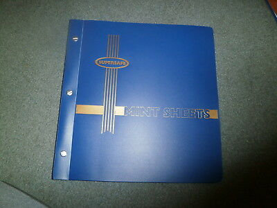 Supersafe Mint Sheet Album, 16 Double Sided Pages
