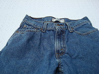 Boy Or Girl Levi's Relaxed Fit Signature Denim Jeans Size 14 R Good Shape