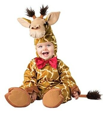 Baby Giraffe Animal Costume - Plush Infant Halloween Zoo Outfit  Size XS or Med